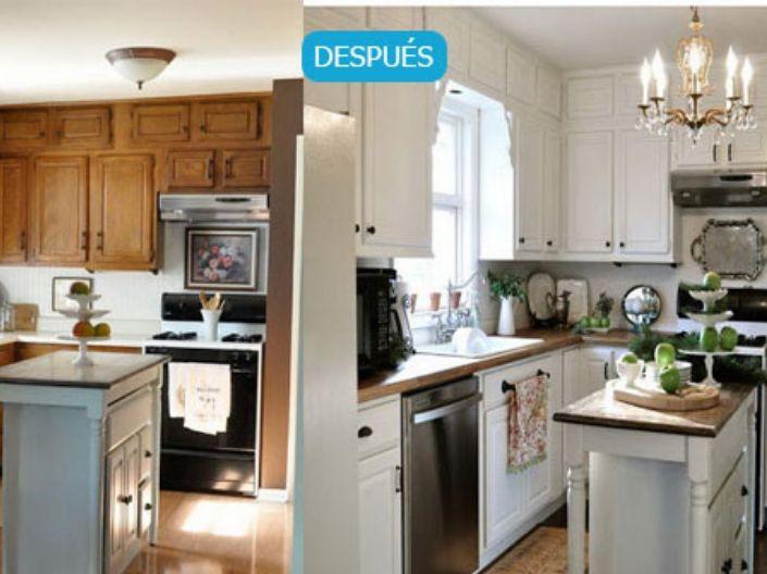 Renova tu mueble de cocina y azulejos con pintura – Cursos ...