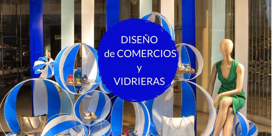 Curso de DISEÑO DE COMERCIOS Y VIDRIERAS