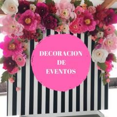 Curso de DECORACION Y AMBIENTACION DE EVENTOS
